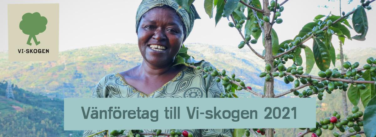 Jordklok.se är vänföretag till Vi-skogen