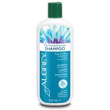 Aubrey Organics Tea Tree & Primrose Shampoo, 325 ml