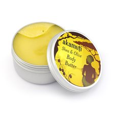 Akamuti Shea & Olive Body Butter, 100 ml