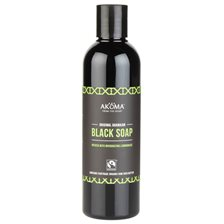 Akoma Liquid Black Soap Lemongrass with Organic Raw Shea Butter