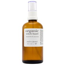 Anita Grant Organic Witch Hazel, 100 ml