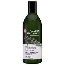 Avalon Organics Nourishing Lavender Bath & Shower Gel, 355 ml
