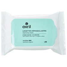 Avril Cleansing Wipes, 25 st