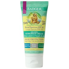 Badger Sunscreen Cream SPF 30 Chamomile & Calendula, 87 ml