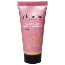Benecos Natural Light Fluid Foundation - Dune, 30 ml