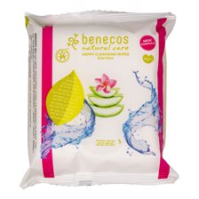 Benecos Natural Happy Cleansing Wipes, 25 st