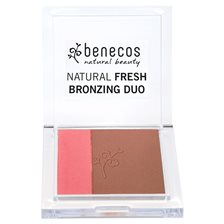 Benecos Natural Fresh Bronzing Duo - California Nights, 8 g