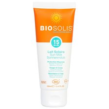 Biosolis Sun Milk SPF 15, 100 ml
