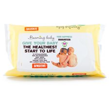 Beaming Baby Baby Wipes Sensitive, 72 st
