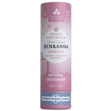 Ben & Anna Natural Sensitive Deo Stick Japanese Cherry Blossom, 60 g
