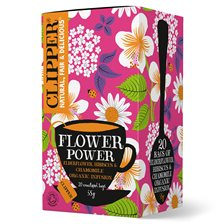 Clipper Örtte Flower Power, 20 påsar