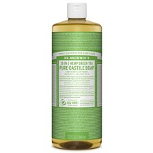 Dr. Bronner's Organic Pure-Castile Liquid Soap Green Tea