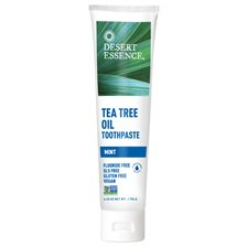 Desert Essence Tea Tree Oil Toothpaste - Mint, 176 g