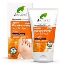 Dr. Organic Manuka Honey Foot & Heel Cream, 125 ml