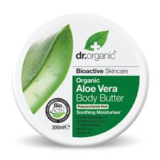 Dr. Organic Aloe Vera Body Butter, 200 ml