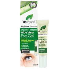 Dr. Organic Aloe Vera Eye Gel, 15 ml