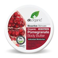 Dr. Organic Pomegranate Body Butter, 200 ml