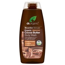 Dr. Organic Cocoa Butter Body Wash, 250 ml