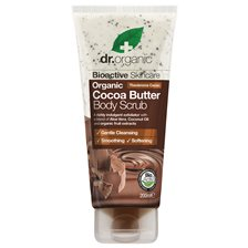 Dr. Organic Cocoa Butter Body Scrub, 200 ml