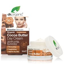 Dr. Organic Cocoa Butter Day Cream, 50 ml
