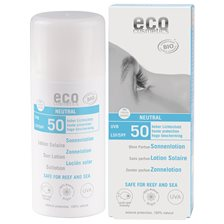 Eco Cosmetics Ekologisk Sollotion Neutral högt skydd SPF 50, 100 ml