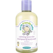 Earth Friendly Baby Calming Lavender Shampoo & Bodywash, 250 ml