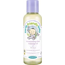 Earth Friendly Baby Moisturising Shea Massage Oil, 125 ml