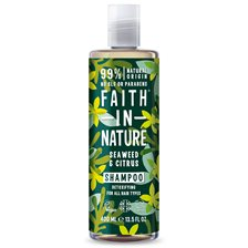 Faith in Nature Seaweed & Citrus Shampoo, 400 ml