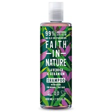 Faith in Nature Lavender & Geranium Shampoo, 400 ml