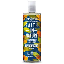 Faith in Nature Grapefruit & Orange Body Wash, 400 ml