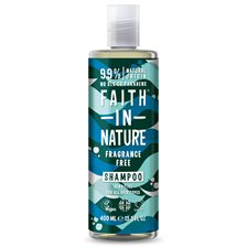 Faith in Nature Fragrance Free Shampoo, 400 ml