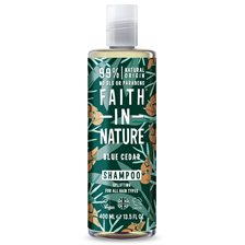Faith in Nature Blue Cedar Shampoo, 400 ml