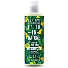 Faith in Nature Lemon & Tea Tree Conditioner, 400 ml