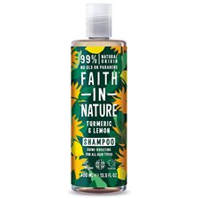 Faith in Nature Turmeric & Lemon Shampoo, 400 ml