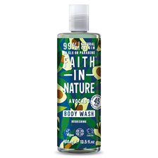 Faith in Nature Avocado Body Wash, 400 ml