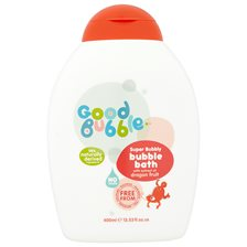 Good Bubble Super Bubbly Bubble Bath with Dragon Fruit, 400 ml