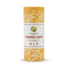 Green & Gorgeous Organics Natural Deodorant Stick Cedarwood & Juniper, 28 g