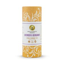 Green & Gorgeous Natural Deodorant Stick Lavender & Bergamot, 28 g