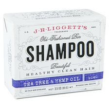 J.R. Liggetts Old-Fashioned Tea Tree & Hemp Oil Shampoo Bar
