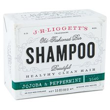 J.R. Liggetts Old-Fashioned Jojoba & Peppermint Shampoo Bar