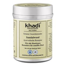 Khadi Herbal Face Mask Sandalwood, 50 g