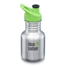 Klean Kanteen Kid Classic Sportflaska - Brushed Stainless, 355 ml