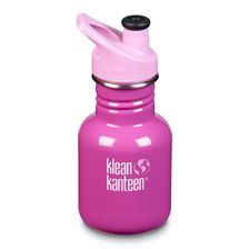 Klean Kanteen Kid Classic Sportflaska - Bubble Gum, 355 ml