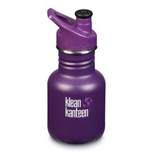 Klean Kanteen Kid Classic Sportflaska - Grape Jelly, 355 ml