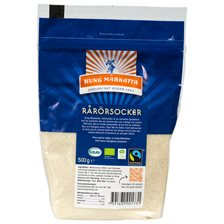 Kung Markatta Rårörsocker Fairtrade, 500 g