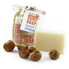 Living Naturally Coconutty Soapnut Shampoo Bar, 90 g