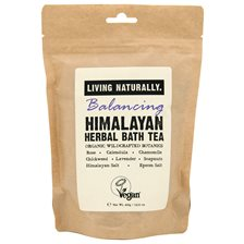 Living Naturally Balancing Himalayan Herbal Bath Tea, 400 g