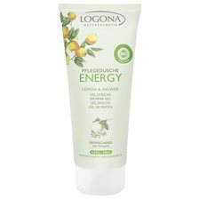 Logona Energy Shower Gel Lemon & Ginger, 200 ml