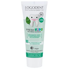 Logona Fresh Kids Mint Toothgel, 50 ml