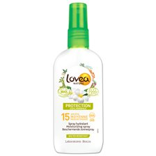 Lovea Moisturizing Sunscreen Spray SPF 15, 125 ml